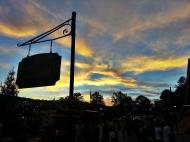 Sunset in Helen